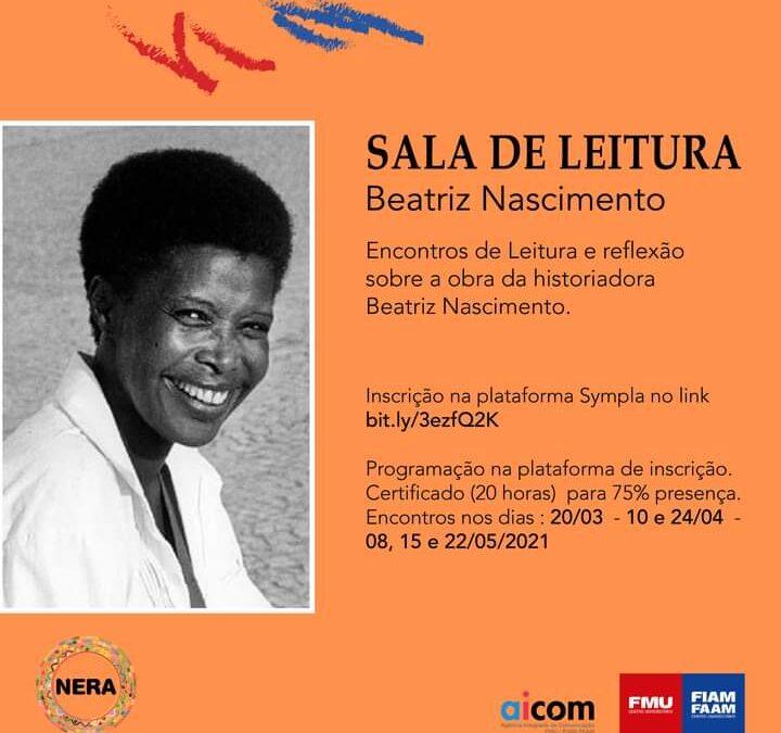 Sala de Leitura recebe no dia 08/05, 16h, as pesquisadoras Carlídia Pereira Almeida, Mariléa Almeida e Selma Dealdina