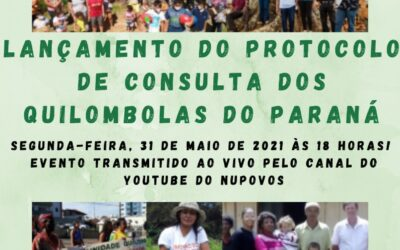 Lançamento do Protocolo de Consulta dos Quilombolas do PR