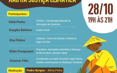 """COP26:  """"SEM JUSTIÇA RACIAL NÃO HÁ JUSTIÇA CLIMÁTICA"""""""