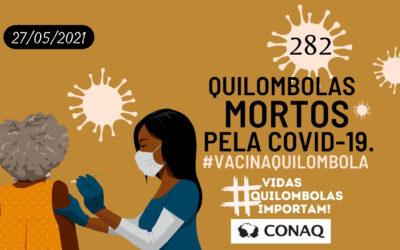 Boletim epidemiológico: Pandemia expõe violações dos direitos quilombolas