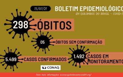 Vacinação não protege 100% da Covid-19, esta ainda é realidade nos quilombos