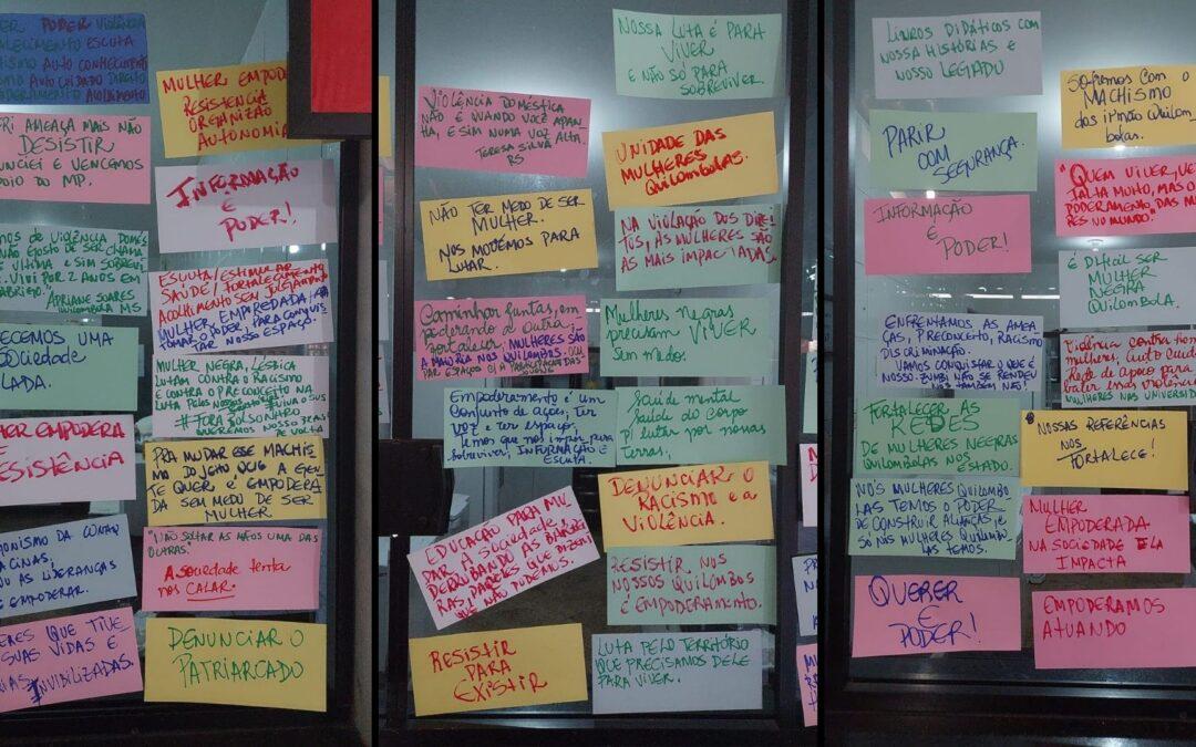25 de julho: em plenária virtual Mulheres da CONAQ refletem sobre os desafios da trajetória quilombola