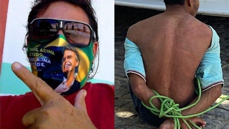 Vítima de tortura, quilombola é amarrado e agredido por bolsonarista