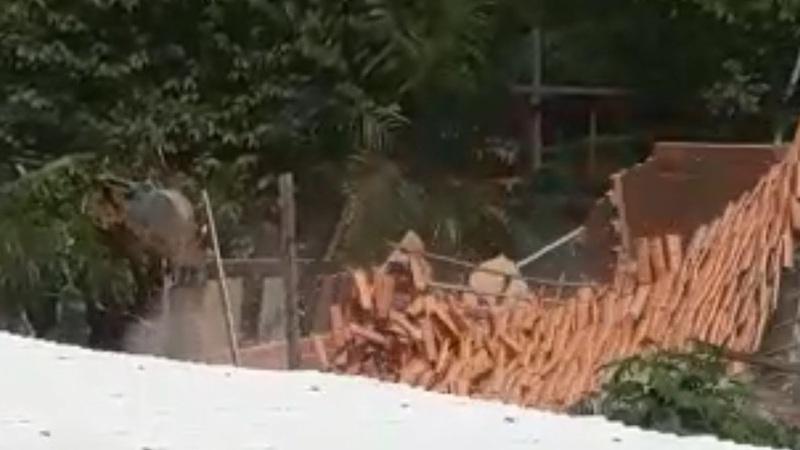 No Pará, quilombolas são agredidos e têm casas demolidas